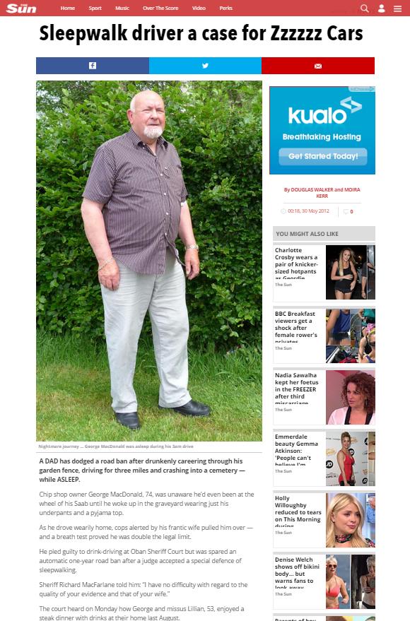Sun Article